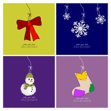 Free Christmas Wallpapers Stock Photography - 22517822