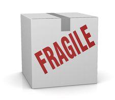 Fragile Royalty Free Stock Image