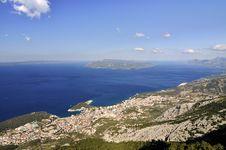 Free City Makarska Royalty Free Stock Photography - 22520927
