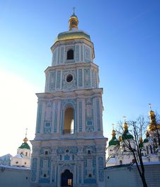 Free Bell Tower Of The Orthodox Saint Sofia Stock Image - 22523551