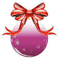 Free Christmas Ball Stock Photography - 22527062