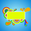 Free Colorful Abstract Banner Vector Royalty Free Stock Photography - 22533677