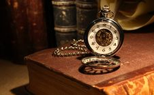 Free Watch And Books Stock Photography - 22530102