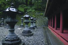 Free Japanese Temple Outdoor Royalty Free Stock Photo - 22530965