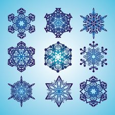 Free Snowflakes Royalty Free Stock Image - 22531606