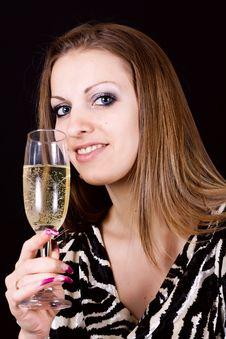Free Classy Party Girl Royalty Free Stock Photos - 22534358