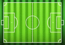 Free Football Field Royalty Free Stock Images - 22539909
