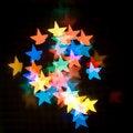 Free Star Bokeh. Stock Photo - 22540310