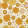 Free Seamless Floral Background. Royalty Free Stock Image - 22543866