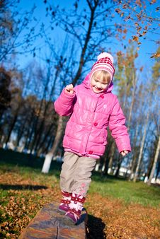Free Girl On The Catwalk Royalty Free Stock Photo - 22540245