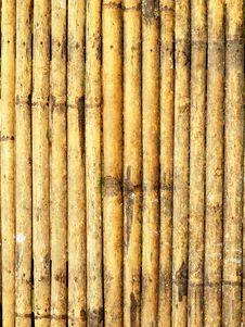 Free Bamboo Wall Texture Stock Image - 22540801