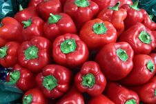 Free Red Sweet Pepper Stock Images - 22540904