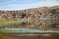 Free Reflection Of Puno Royalty Free Stock Image - 22542486