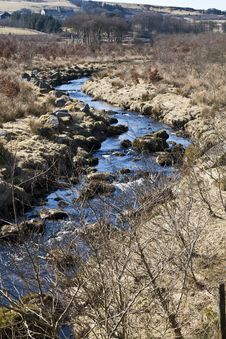 Free River Dart In Dartmoor National Park Royalty Free Stock Images - 22543009
