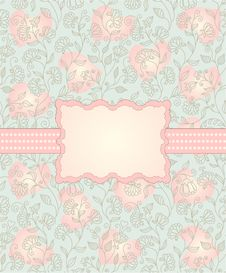 Free Floral Background Royalty Free Stock Images - 22543789