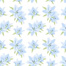 Free Seamless Floral Background. Royalty Free Stock Photography - 22543807
