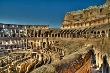 Free Inside The Colosseum, Rome Stock Image - 22544821
