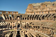 Free Inside The Colosseum, Rome Stock Photography - 22544842