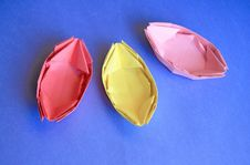 Free Paper Boats Royalty Free Stock Images - 22545349