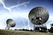 Free Radar Dish Royalty Free Stock Image - 22546506