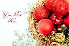 Free Happy New Year And Christmas  Background Stock Photos - 22548843