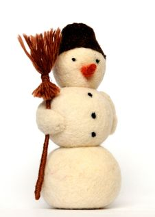Free Toy Snowman Royalty Free Stock Photography - 22549247
