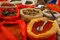 Free Spices And Fungi At A Market Royalty Free Stock Photo - 22552025