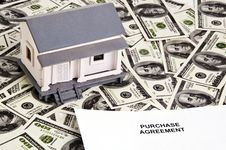 Purchase Agreement For House Royalty Free Stock Image