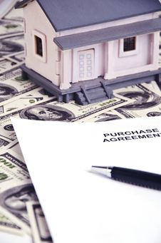 Real Estate Agreement Royalty Free Stock Photography