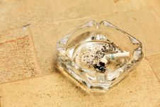 Free Cigarette Butt In Ashtray Stock Photography - 22550742
