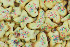 Free Christmas Cookies Clustered Stock Image - 22551321