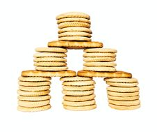House Of Cookies Royalty Free Stock Photo