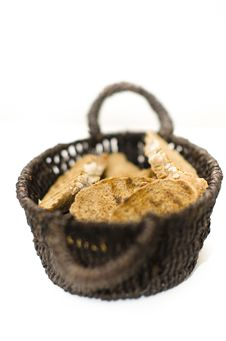 Free Bread Basket Royalty Free Stock Image - 22554786