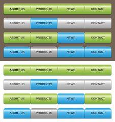Free Navigation Templates Stock Image - 22555181
