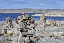 Free Stone Towers Stock Photo - 22557720