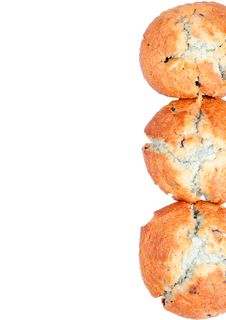 Free Blueberry Muffins Royalty Free Stock Photos - 22558348
