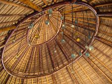 Free Palapa Roof Royalty Free Stock Photo - 22558455