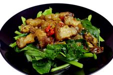 Free Stir Fried Royalty Free Stock Image - 22560456
