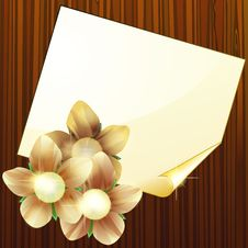Free Blank Page On Wood Royalty Free Stock Photos - 22560768