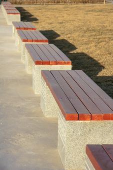 Free Benches Royalty Free Stock Image - 22562966