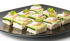 Prawn Cocktail Appetizer Stock Photo