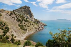 Free Cape Hoba-Kaya On The Crimean Coast. Stock Photography - 22563122