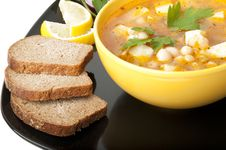 Free Soup With Beans Stock Photos - 22563223