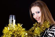 Free Classy Party Girl Royalty Free Stock Photos - 22564318