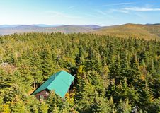 Free Cabin On Balsam Lake Mountain Stock Image - 22567891