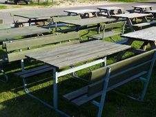 Free Picnic Tables Stock Photography - 22568492