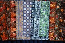 Free Batik Cloths Stock Images - 22568884