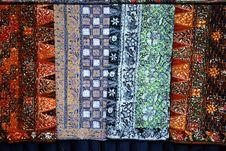 Batik Cloths Stock Images