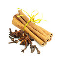 Free Cinnamon, Anise And Cloves Stock Photo - 22570280