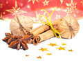 Free Cinnamon, Anise And  Walnuts Royalty Free Stock Photos - 22570338